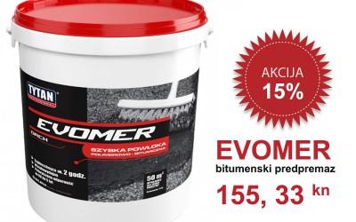 EVOMER bitumenski predpremaz – Sniženo 15 %
